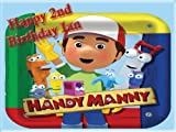 "Single Source Party Supply - Handy Manny Edible Icing Image #1-8.0"" x 10.5"""