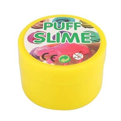 Yangmg Juguete de plastilina for aliviar el estrés Niños Juguete de Barro de Goma DIY Inteligente Arcilla de Barro de Cristal ( Color : 3 ): Juguetes y juegos