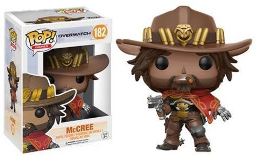 Funko POP! Games Overwatch McCREE Vinyl Collectible Figure