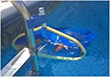Leaf Bone - Leaf Net Skimmer Clip - Pool Net Ladder Attachment (Net Sold Separately) - Automatic Pool Cleaner - Collects More Than Skimmer Basket
