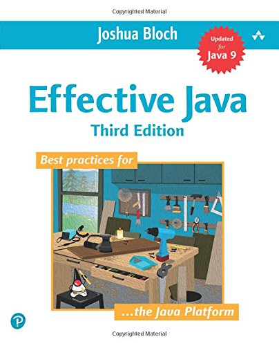 Effective Java (3rd Edition) cover