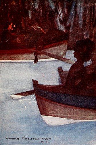 Blue Grotto Capri Poster Print by Maurice Grieffenhagen