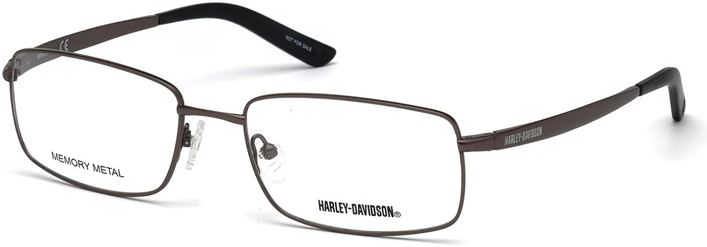 Eyeglasses Harley-Davidson HD 0769 009 matte gunmetal