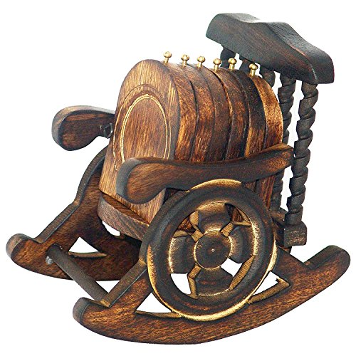 Antique Crafted Coasters Decorated Rocking product image