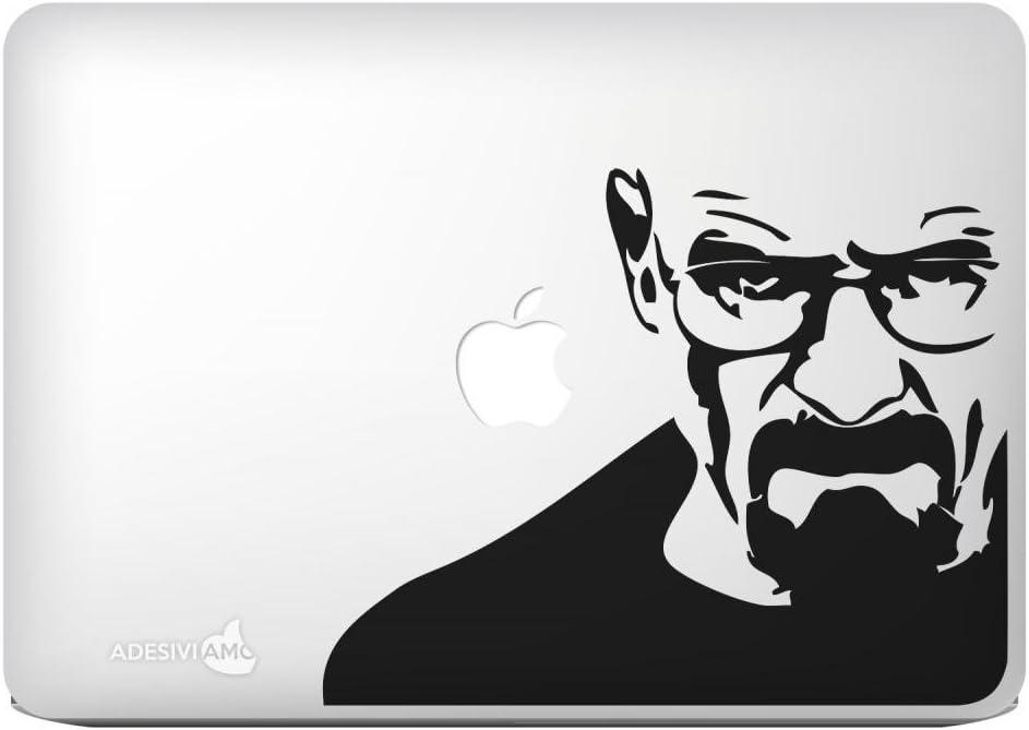 Autocollant Adesiviamo Heisenberg De la s/érie Breaking Bad Pour Apple MacBook 13 Macbook Pro Wei/ß