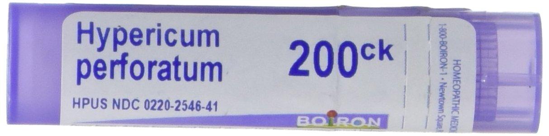 Boiron Hypericum Perforatum 200CK, 80 Pellets, Homeopathic Medicine for Nerve Pain