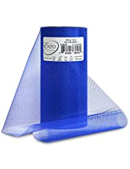 Expo Shiny Tulle Spool of 25-Yard, Royal Blue