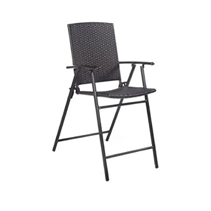 size 40 c23bf 0734e Amazon.com: GT Outside Bar Stools Set Of 4 Folding Tall ...