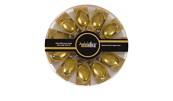 Minioliva Aceite de Oliva Virgen Extra - Paquete de 10 x 14 ml - Total: 140 ml - [pack de 4]: Amazon.es: Alimentación y bebidas