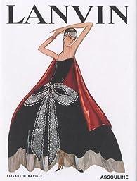 Book's Cover ofLanvin