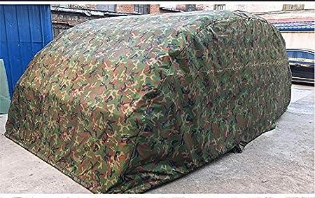 KRFRL Plegable Cochera Semi-automático, hidráulico móvil Garaje Garaje Grueso algodón Caliente a Prueba de Viento Simple cobertizo y Desmontable Completamente Cerrado vertiente del Coche: Amazon.es: Jardín
