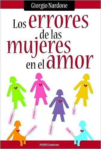 Los errores de las mujeres (en el amor) (Contextos): Amazon ...
