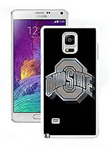 Unique Samsung Galaxy Note 4 Screen Case ,Popular And Durable Designed Case With Ncaa Big Ten Conference Football Ohio State Buckeyes 13 White For Samsung Galaxy Note 4 Phone Case Great Quality Cover Case