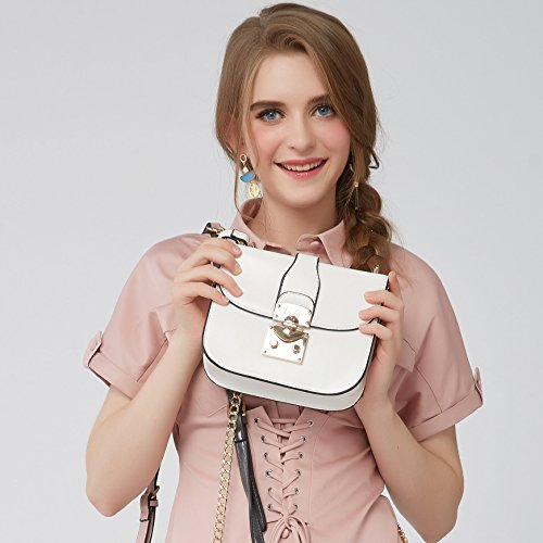 de elegante con chicas 14 y Barbie mujer casual estilo Bolso baguette bandolera bolso para borlas qwcfSFfIX
