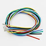 600 volt wire - BNTECHGO 18 Gauge Silicone Wire Kit Ultra Flexible 7 Color High Resistant 200 deg C 600V Silicone Rubber Insulation 18 AWG Silicone Wire 150 Strands of Tinned Copper Wire Stranded Wire Battery Cable