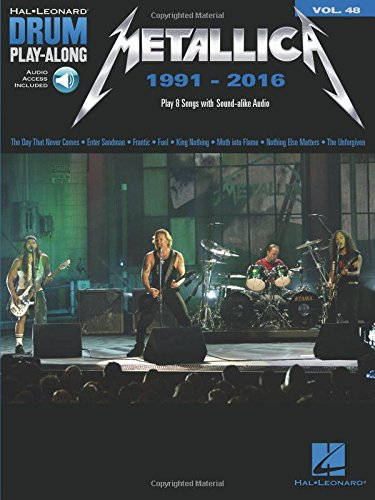 Metallica: 1991-2016: Drum Play-Along Volume 48 (Hal Leonard Drum Play-Along)