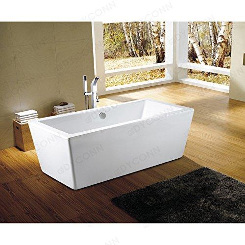glossy white acrylic tub - 8