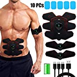 zociko ABS Stimulator Muscle Toner Abdominal Toning Belt Muscle Smart EMS Body Trainer