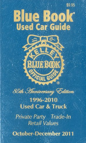 Kelley Blue Book Used Car Guide, October-December 2011