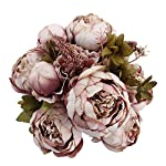 Duovlo-Fake-Flowers-Vintage-Artificial-Peony-Silk-Flowers-Wedding-Home-DecorationPack-of-1-Sweetened-Bean