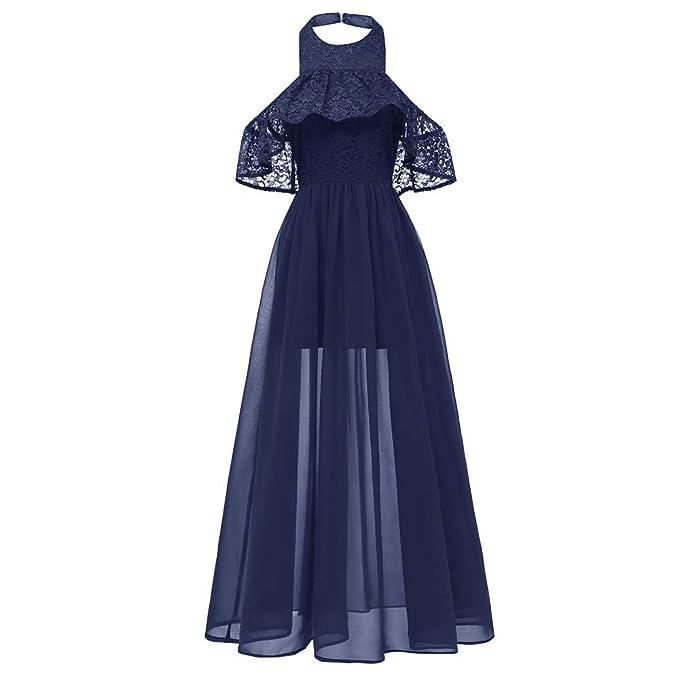 Kinlene Vestidos para Mujer Vestido Vintage Elegantes Sin Manga Mujer Noche Fiesta Elegante: Amazon.es: Ropa y accesorios