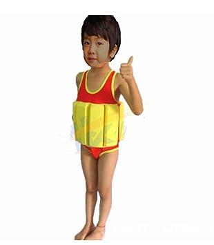 Edealing (TM) 1pcs Swim School Op Flotador natación chalecos Bañador natación ayudante Ayuda Dispositivos para niños Aprendizaje: Amazon.es: Deportes y aire ...