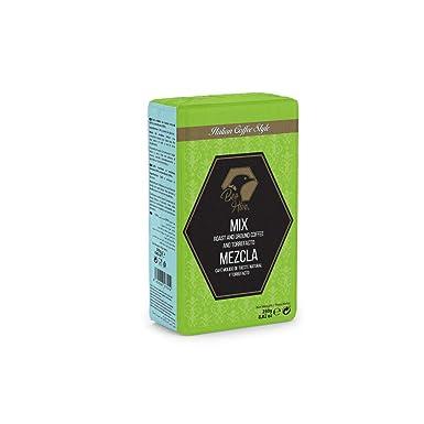Beo Hive Café Forte Molido Mezcla, 250 g, Pack de 1: Amazon.es ...