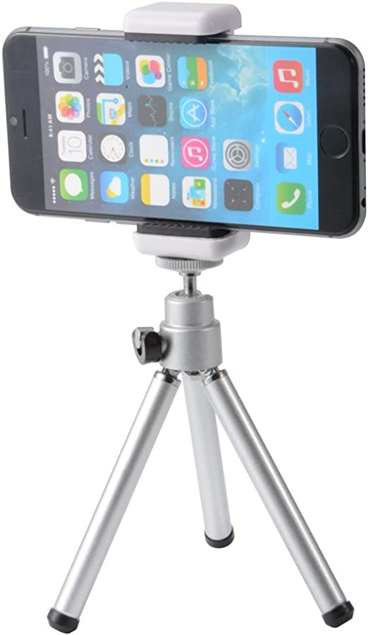 XCSOURCE 3in1 Bluetooth Smartphone Cámara Photo Selfie Kit, Mini Tripod + Bluetooth Remote Shutter + Phone Titular para el iPhone 7 / 6S / 6, Samsung Galaxy LF800: Amazon.es: Electrónica