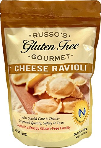 Russo's Gluten Free Cheese Ravioli 12 Oz (Pack of 3) - The Best Italian GF Pasta for a delicious and satisfying meal (Frozen) (Best Frozen Cheese Ravioli)