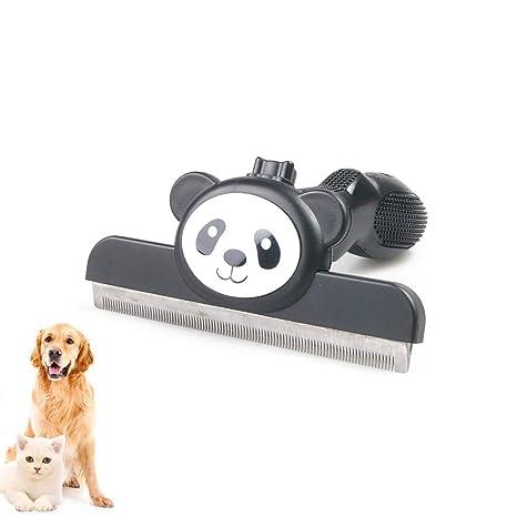Whchiy Cepillo Desmontable para Mascotas, Cepillo de Aseo para Perros y Gatos, Cepillo de