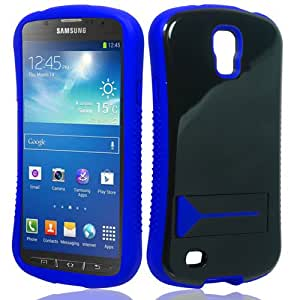 CY Infuse Hybrid Cover Case with Kick Stand For Samsung Galaxy S4 Active / i537 / i9295 (include a Free CYstore Stylus Pen) - Blue