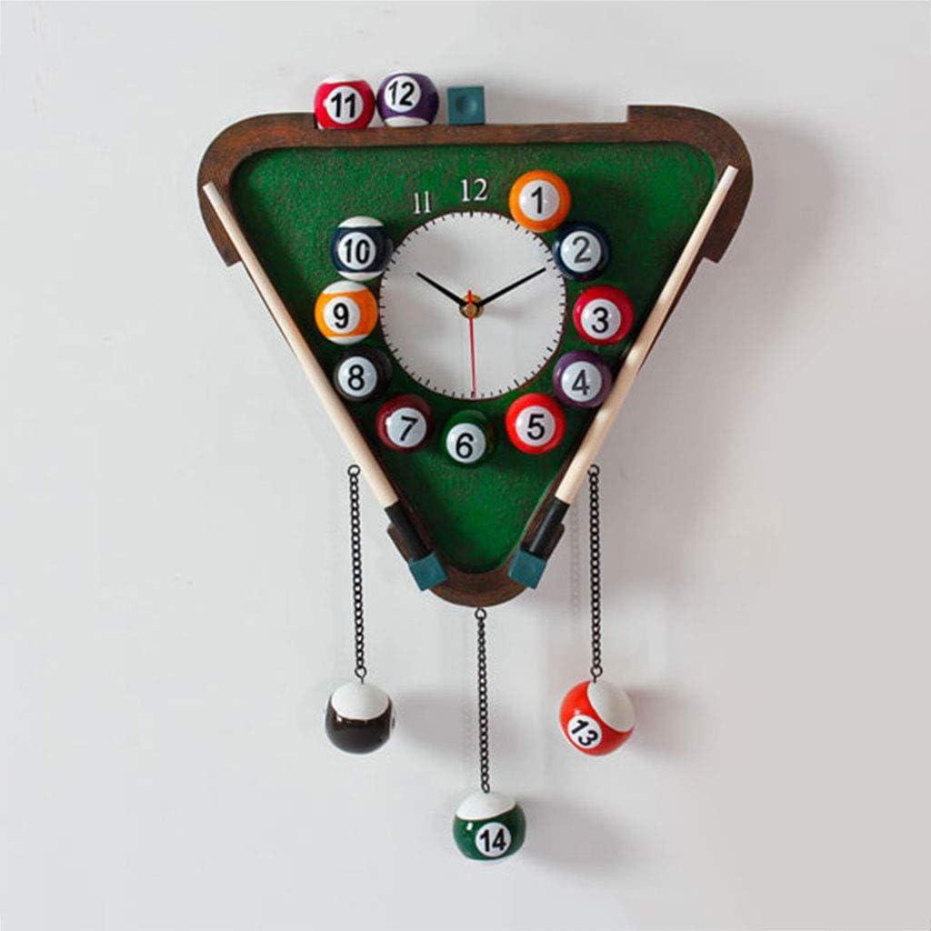 NS Relojes Pared Decoración Hogar Personalidad Creativa, Billar ...