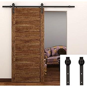 diy barn door hardware home depot sliding cabinet feet closet set antique style black menards