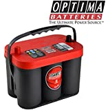 Optima Rouge Batterie De Démarrage Rtc4.2 Red 2.0 Jtd Diesel Essence