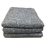 UBOXES Moving Blankets Professional Quality Textile Skins 54 x 72 Pads, Grey by Uboxes