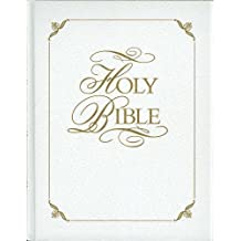 Family Faith & Values Bible Heritage Edition (White Bonded Leather with Gift Box): King James Version