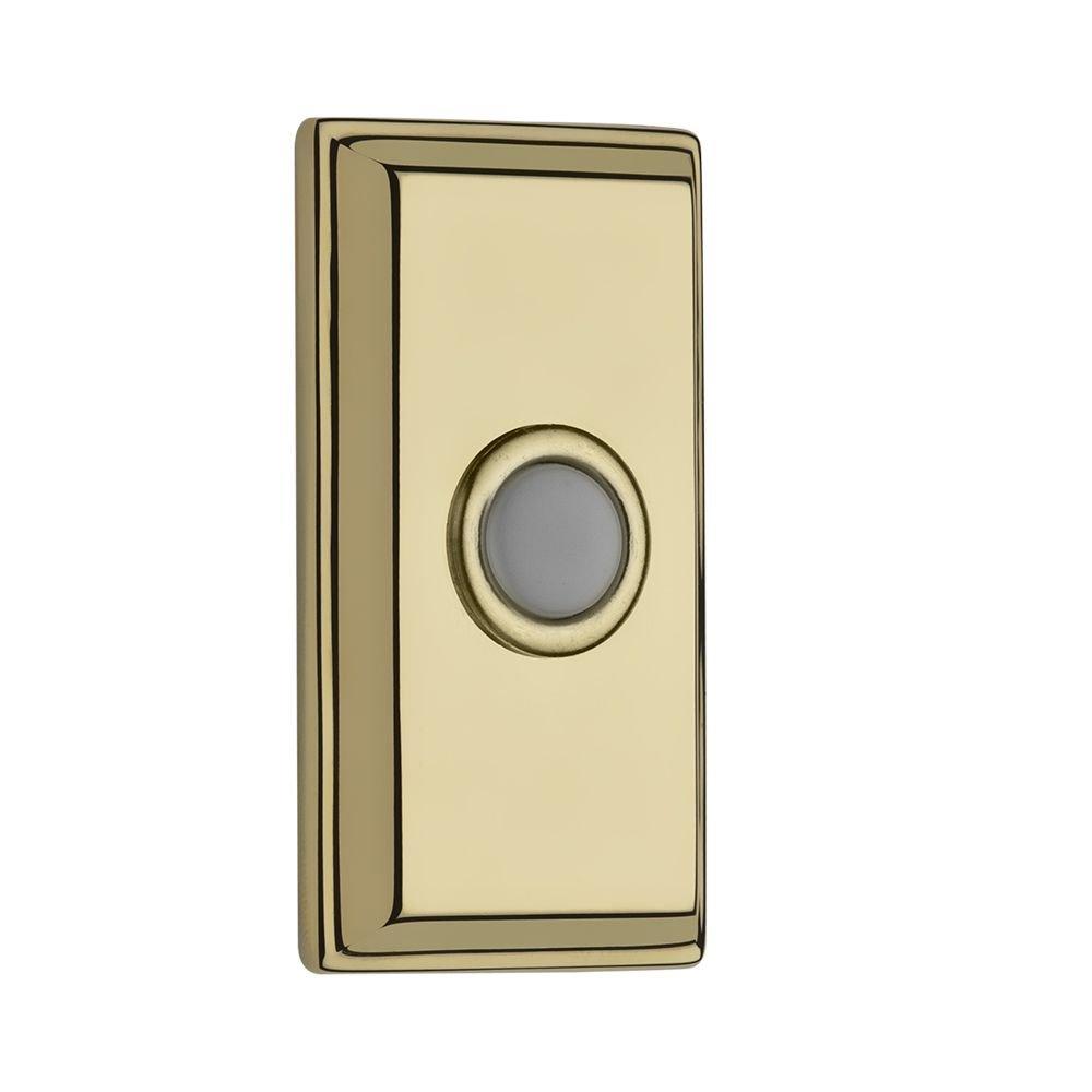 Baldwin 9BR7015-004 Rectangular Bell Button