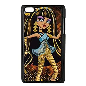Customiz Cartoon Game Monster High Back Case for ipod Touch 4 JNIPOD4-1419