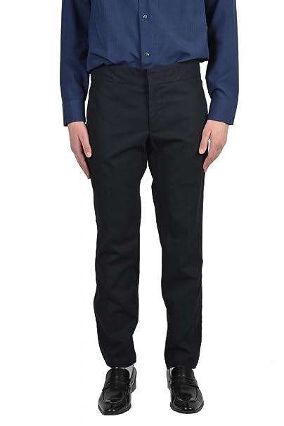 Amazon.com: Lanvin Vestido Negro Pantalones para hombre ...