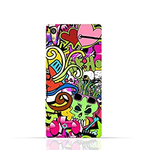 Sony Xperia Z3 Dual TPU Silicone Case with Graffiti Hip Hop 2