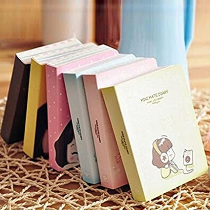 Book Diary Planner Journal School Scheduler Organizer Agenda Cute Kawaii Notebooks