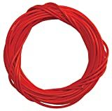 Sunlite Lined Brake Cable Housing, 5mm x 50ft, Red