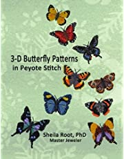 3-D Butterfly Patterns in Peyote Stitch