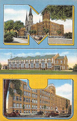 Milwaukee Wisconsin Marquette University Antique Postcard J80890