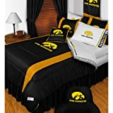 NCAA Iowa Hawkeyes - 5pc BEDDING SET - Full/Double Size