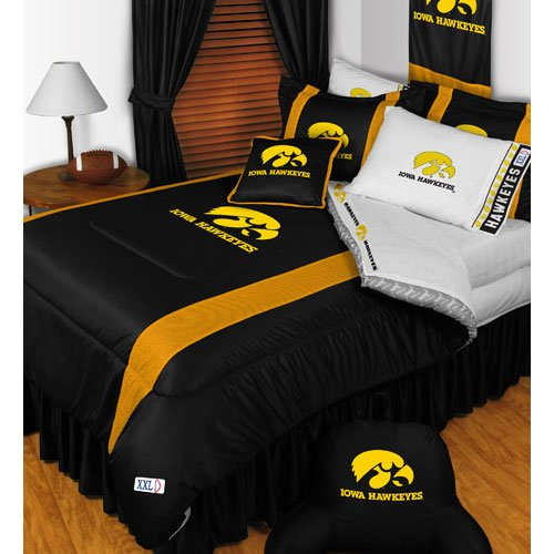 NCAA Iowa Hawkeyes - 5pc BEDDING SET - Full/Double Size by NCAA