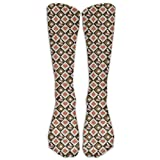 X-PEACH Poker Rabiits Clock Women Men Athletic Long Socks For Outdoor Socks