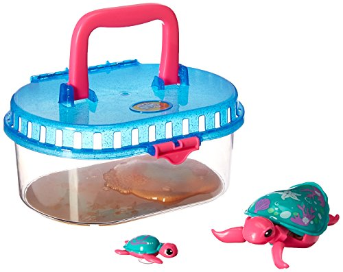 Little Live Pets Season 5 Lil' Turtle Tank - Seashore the Reef Turtle and Baby (Lil Turtle)