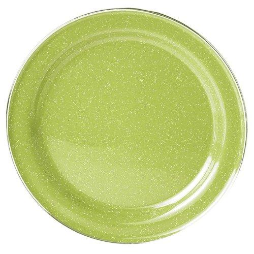 GSI dishes green enamel plates