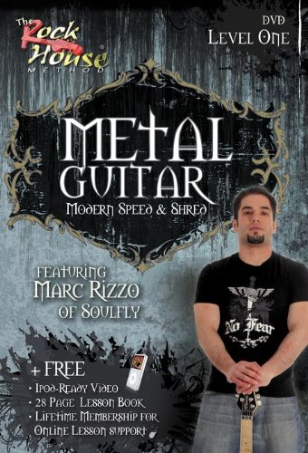 Modern Metal Guitar - Metal Guitar: Modern Speed & Shred - Featuring Marc Rizzo - Intermediate - DVD